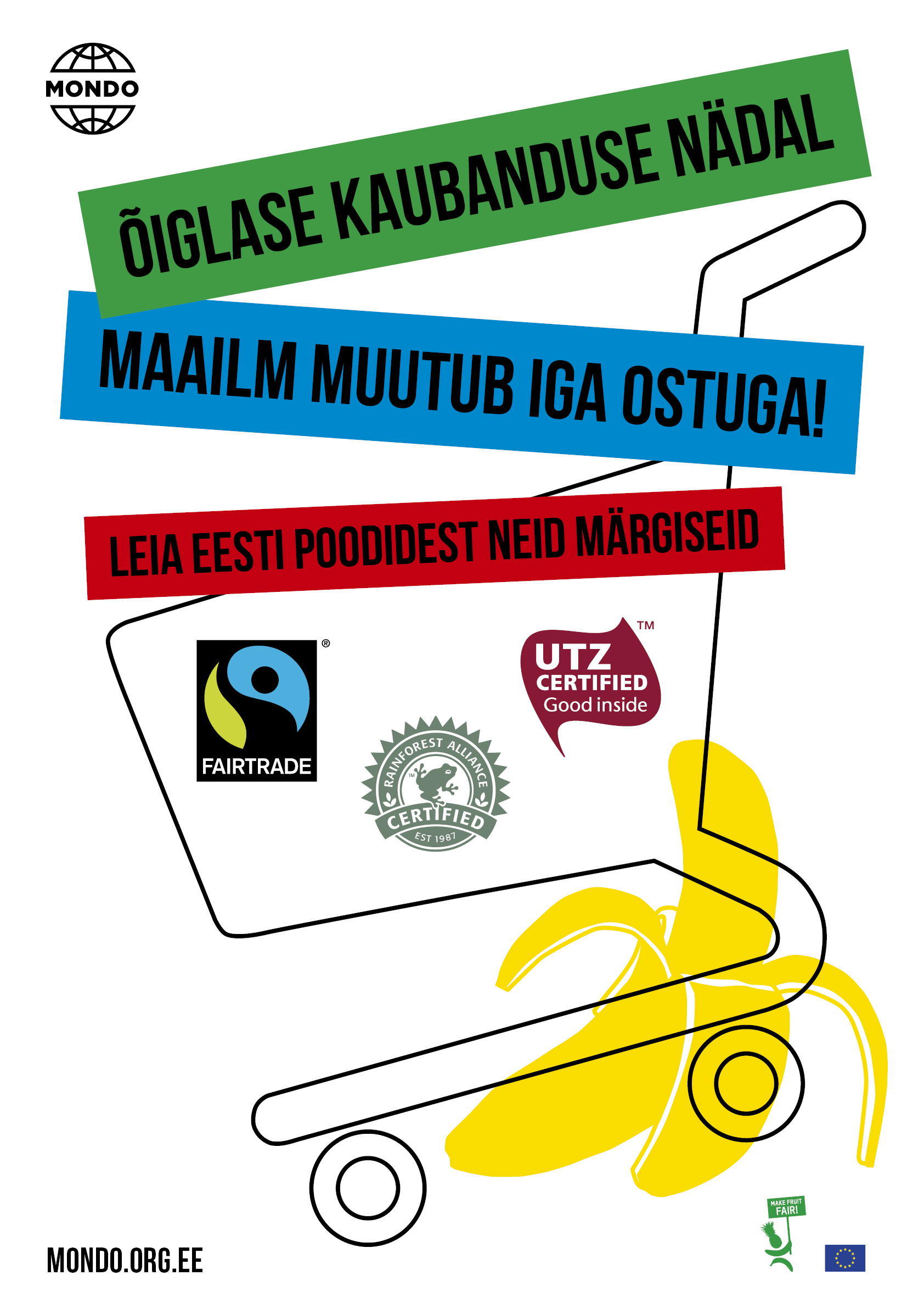 Mondo fairtrade plakat veeb